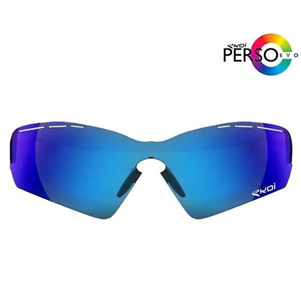 Verre PERSOEVO SOLAIRE REVO Bleu