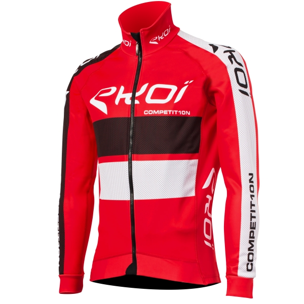 EKOI COMP10 CONNECT Red thermal winter jacket