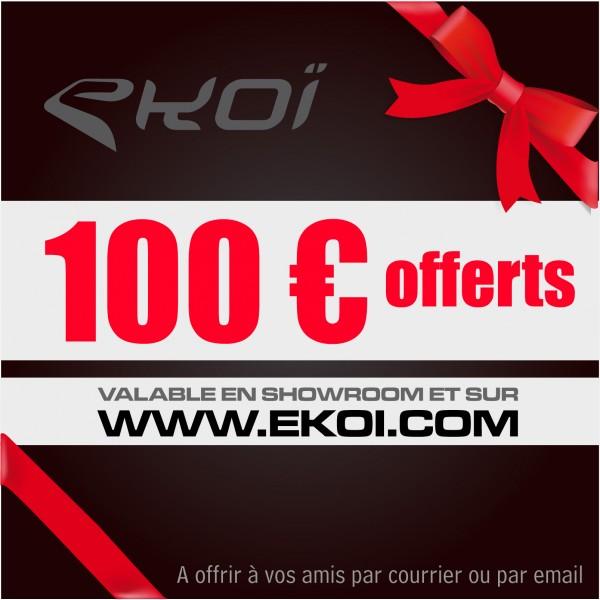 CHEQUE CADEAU 100 euros