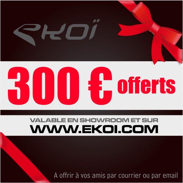 GESCHENKCHÈQUE 300 euro