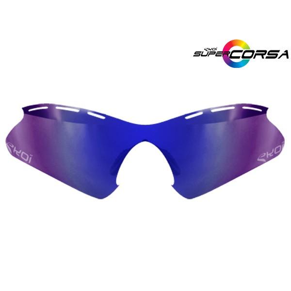 Revo-Sonnengläser Blau EKOI SUPER CORSA