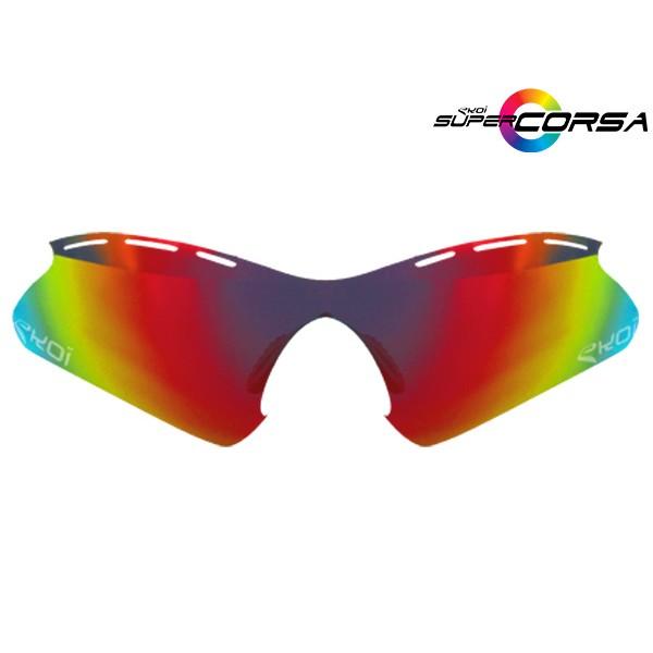 Revo-Sonnengläser Rot EKOI SUPER CORSA