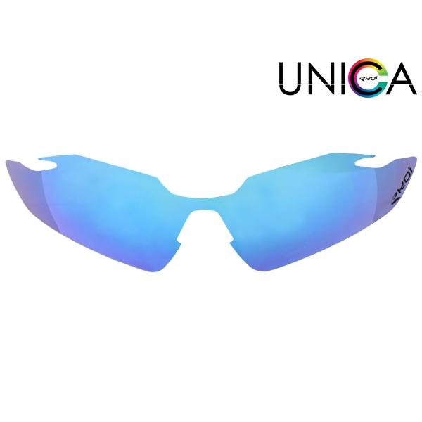 Verre UNICA CAT-1 bleu