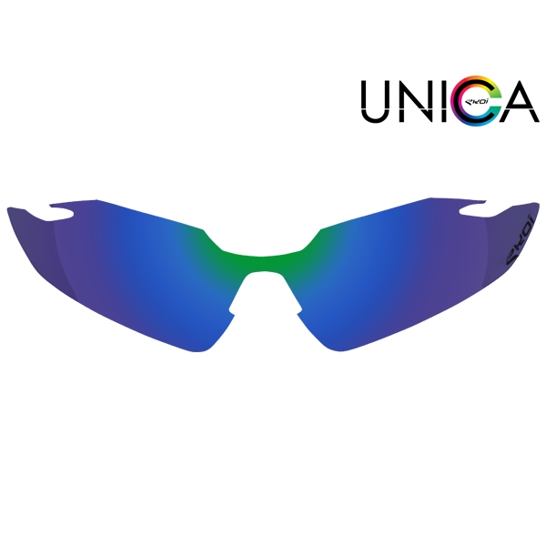Lens UNICA CAT. 3 blauw