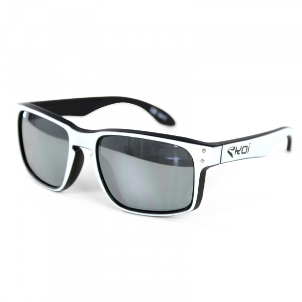 EKOI GLASSES Lifestyle WHITE BLACK