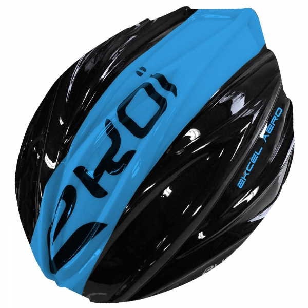 REMOVABLE SHELL EKCEL EVO2 BLACK/BLUE