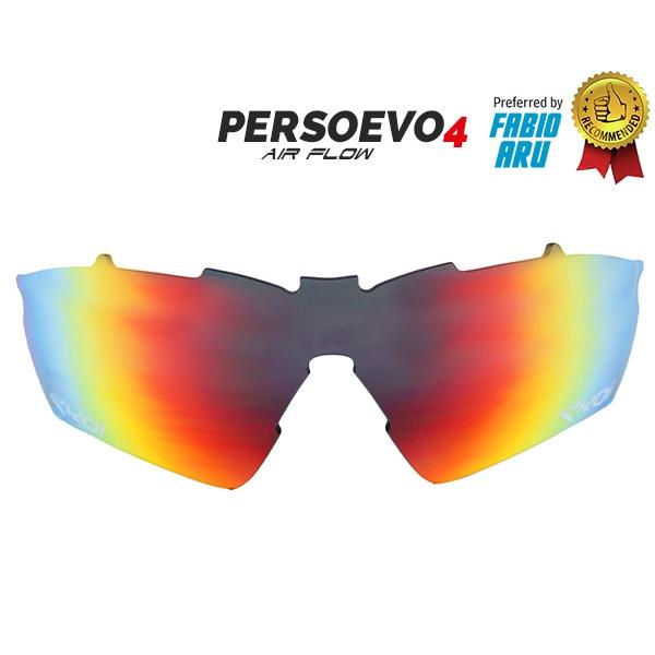 Verre PersoEvo4 Revo rouge Cat-3