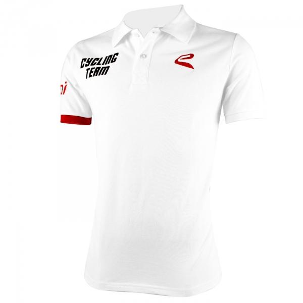 Polo EKOI Cycling Team 2016 WHITE