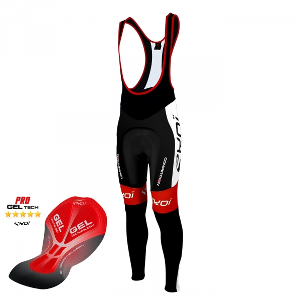 EKOI Competition9 Gel black bib tights