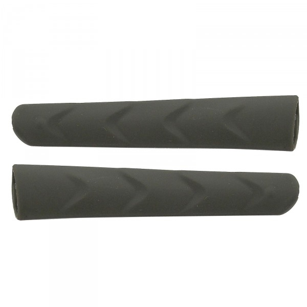 Twin-pack grey temple gripper (left & right) replacements for EKOI PERSOEVO sunglasses
