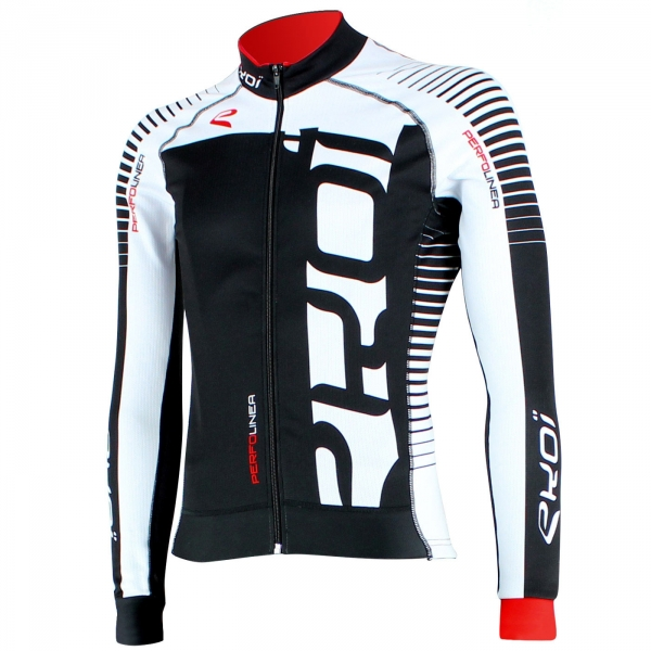 Winter Jersey EKOI PERFOLINEA 2016 Black/White