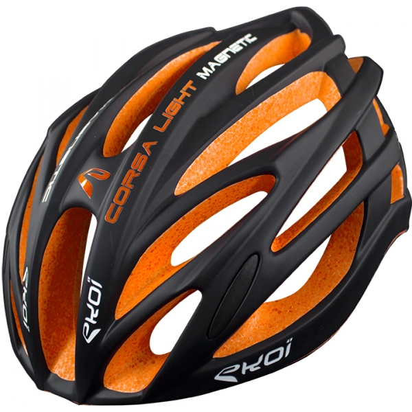 Helm EKOI CORSA LIGHT Zwart Oranje