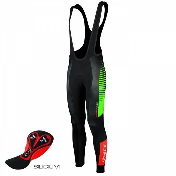 EKOI PERFOLINEA bibtights 2016 Gel Neon Green