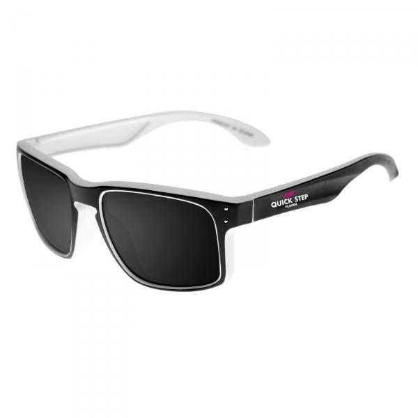 Sonnenbrille EKOI Lifestyle Schwarz Weiß Quickstep