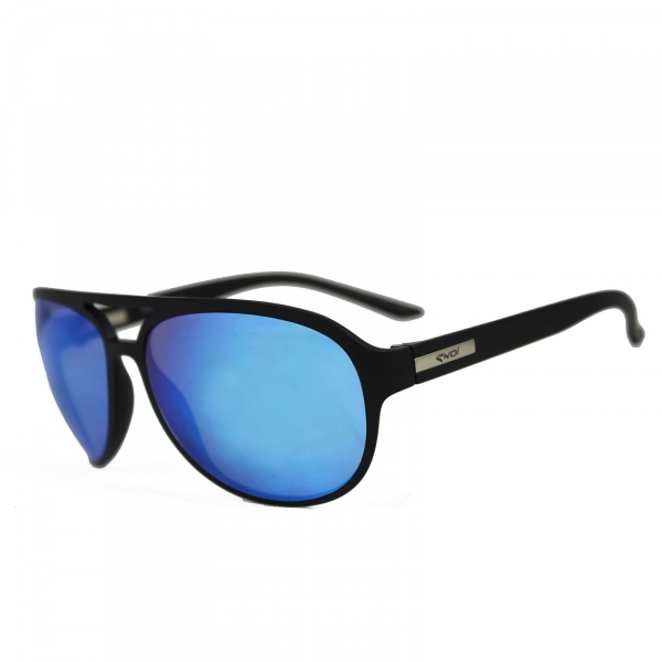 Sonnenbrille EKOI ROAD FASHION Quickstep Schwarz