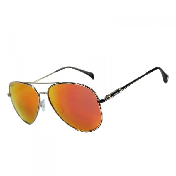 Czarno-pomarańczowe okulary EKOI SUN