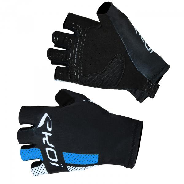 Rękawice letnie EKOI COMP10 Czarno-niebieskie