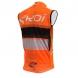 Windvest EKOI COMP10 Oranje zwart wit