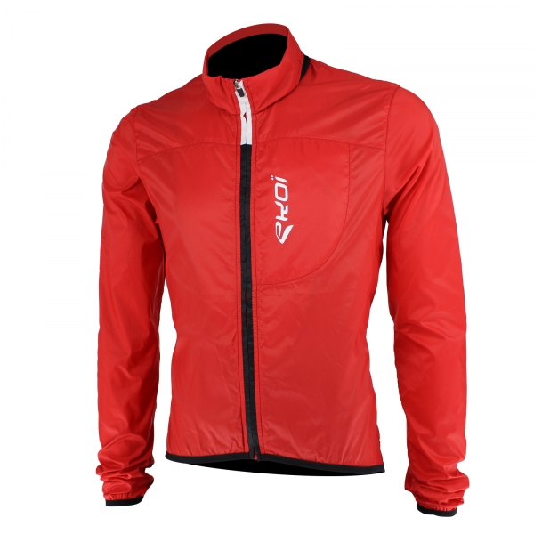 EKOI Rain Stop Pocket red windproof jacket