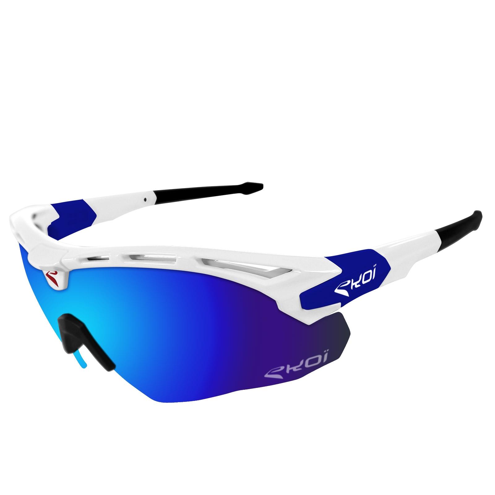 b22d7963e966a EKOI GUERRA Limited Edition QUICKSTEP Revo Bleu Lens Sunglasses ...