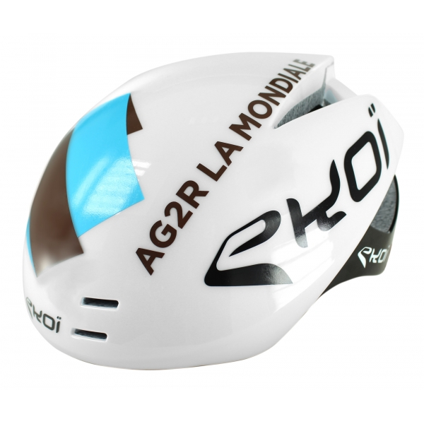 EKOI AERODYNAMIC AG2R LA MONDIALE replica aero helmet with magnetic buckle