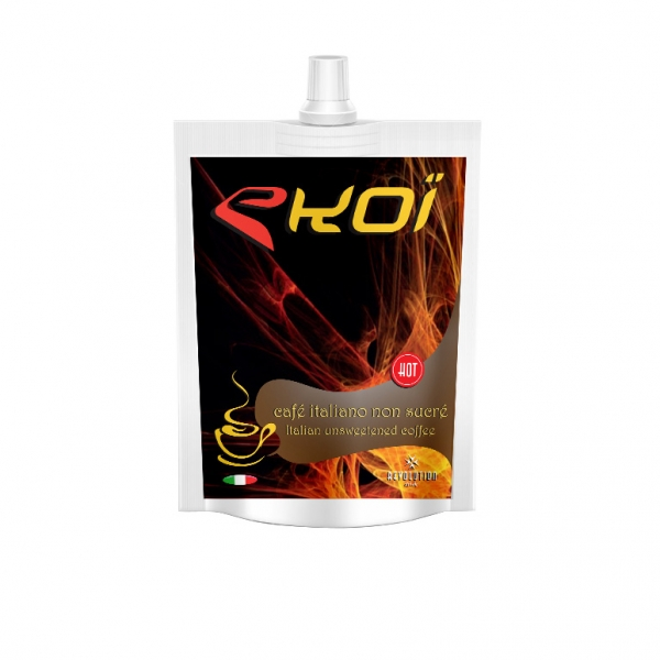EKOI Revolution hot energy drink Italian coffee (unsweetened) flavour