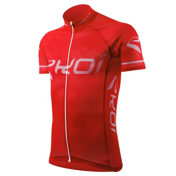 EKOI SOLAIR Red Trans-bronzing short sleeve jersey