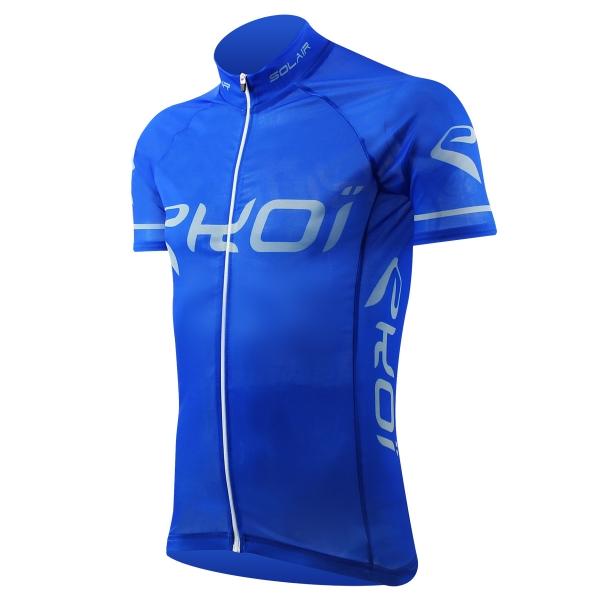 Koszulka EKOI SOLAIR Niebieska Przepuszczająca Opalające Promienie