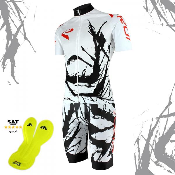 EKOI Limited Edition Cycling Art Jersey & NSAT Bibshort bundle