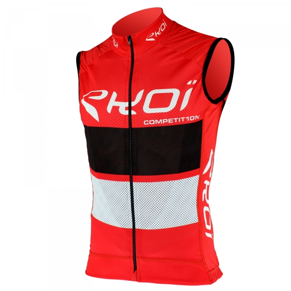 EKOI COMP10 Red Black White sleeveless jersey