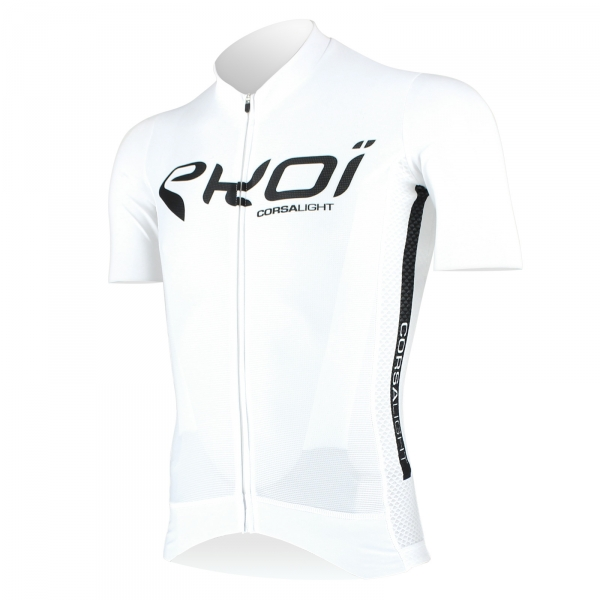 EKOI Corsa Light White short sleeve jersey