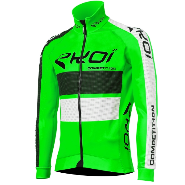 EKOI COMP10 Green fluo thermal winter jacket