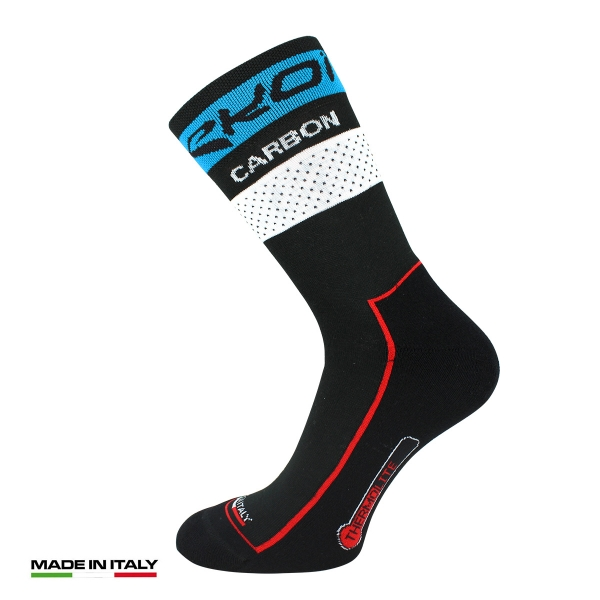 EKOI COMP10 Carbon Thermolite Black / Blue winter cycling socks