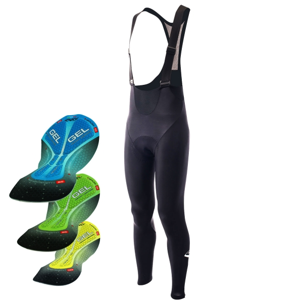 EKOI Pro Gel Memory winter bib tights