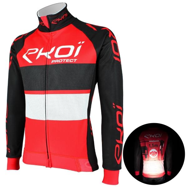 EKOI PROTECT Red / Black thermal jacket
