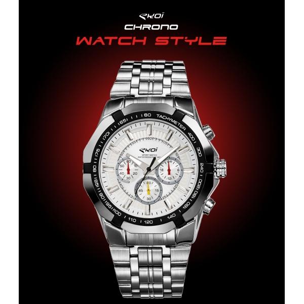 Zegarek EKOI WATCH STYLE Biały