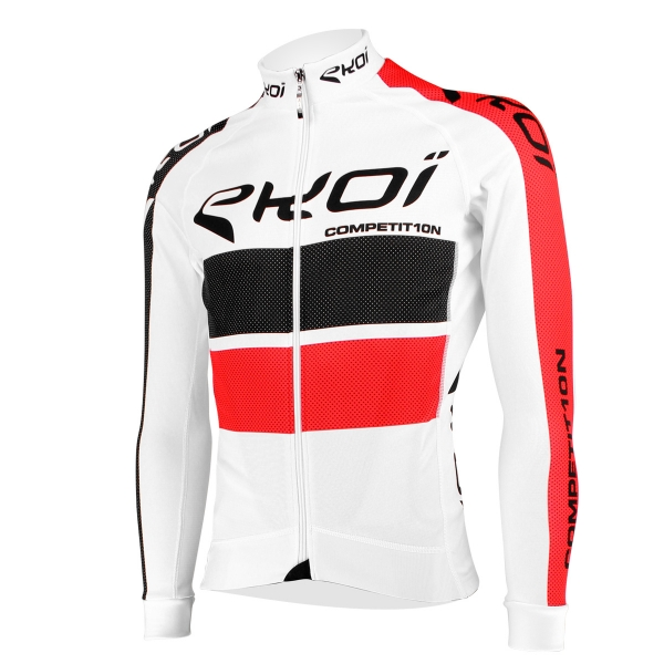 EKOI COMP10 White long sleeve jersey