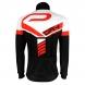 Czarno-czerwono-biała bluza termoaktywna EKOI DRY