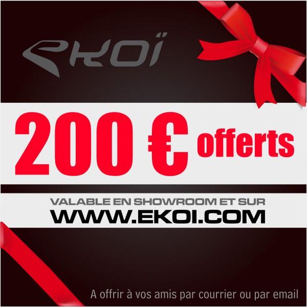 BON PREZENTOWY WARTOŚCI 200 euro