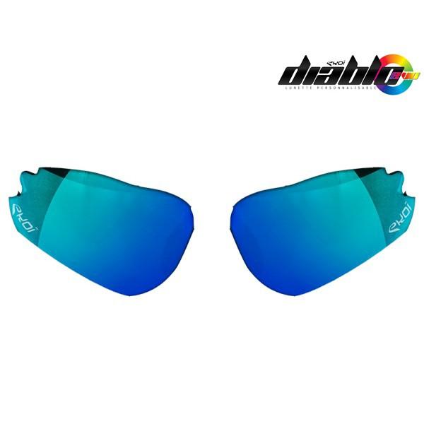 Revo-Gläser Blau EKOI DIABLO
