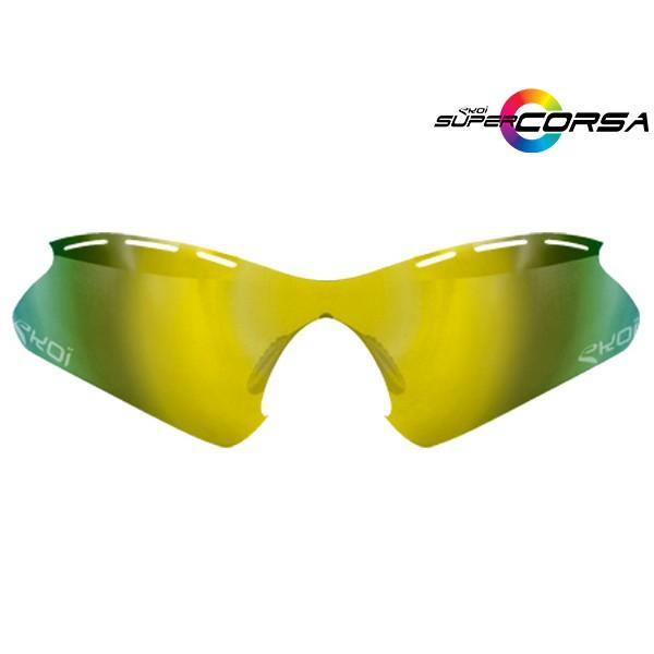 Revo-Sonnengläser Gelb EKOI SUPER CORSA