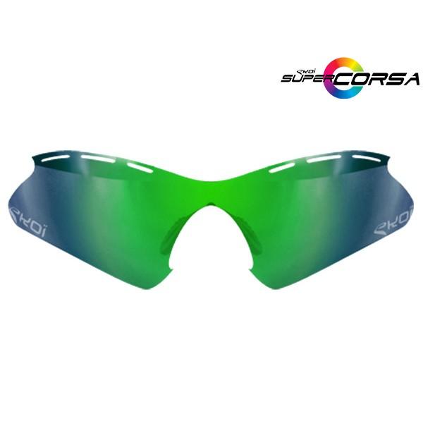 Revo-Sonnengläser Grün EKOI SUPER CORSA