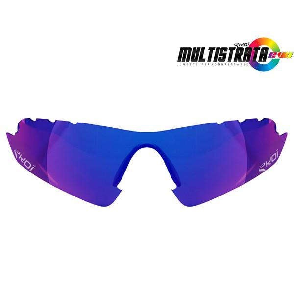 Revo-Sonnengläser Blau EKOI MULTISTRATA