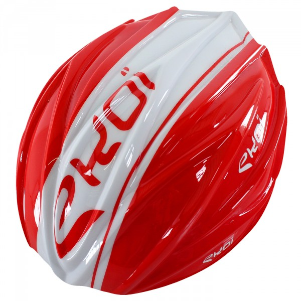 REMOVABLE SHELL EKCEL AERO RED/WHITE