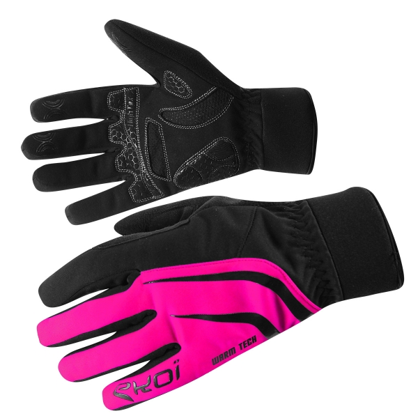 GLOVES EKOI WARMTECH NEON PINK