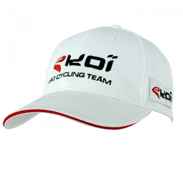 PODIUM CAP EKOI 2016 WHITE/RED