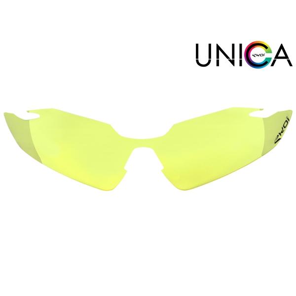 Verre UNICA CAT-0 jaune