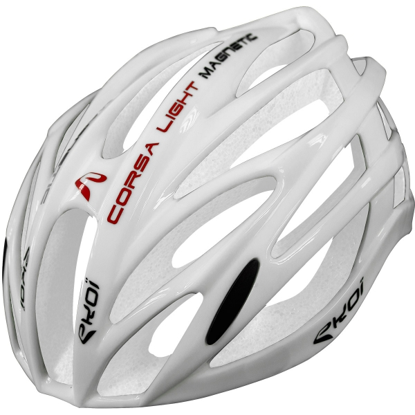 EKOI CORSA LIGHT Full White Helm