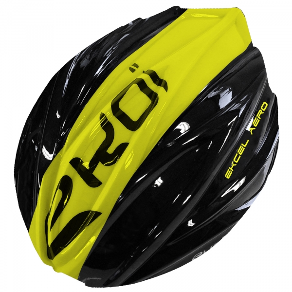 REMOVABLE SHELL EKCEL EVO2 BLACK/YELLOW