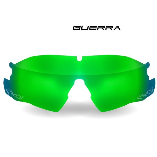 Szkła GUERRA Revo zielone Kat.3